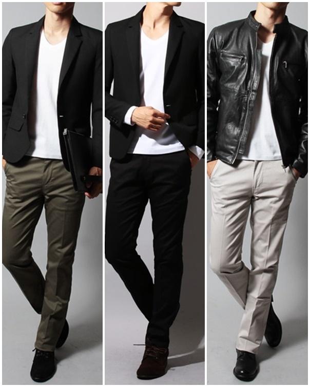 美脚パンツとジャケット